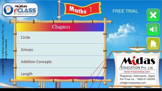 MiDas eCLASS Maths 1 Demo screenshot 7