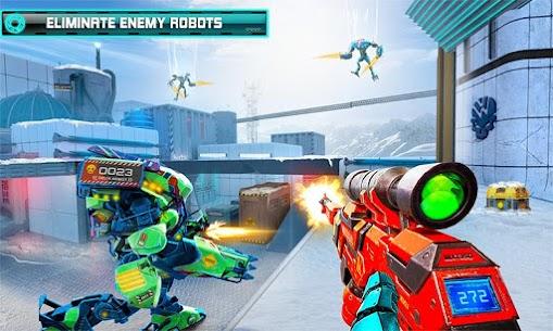 US Police Robot Counter Terrorist Shooting Games 1