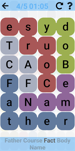 Word Search - Free word games. Snaking puzzles filehippodl screenshot 1