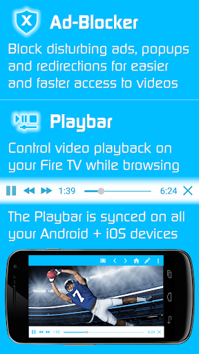Video & TV Cast | Fire TV - Web Video Cast Browser 2.15 screenshots 3