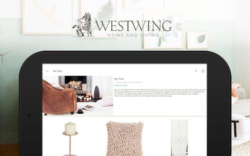 westwing m bel inspiration apps bei google play. Black Bedroom Furniture Sets. Home Design Ideas