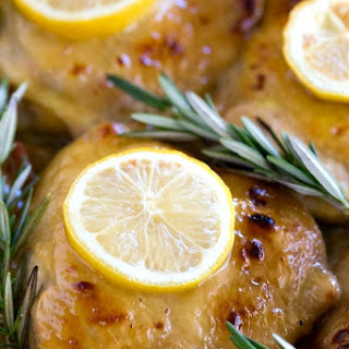 Baked Lemon Honey Mustard Chicken