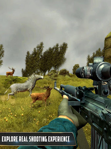Animal Hunter : Jungle Sniper Shooting apktram screenshots 4