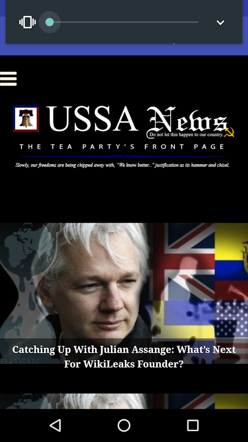 USSA News- screenshot