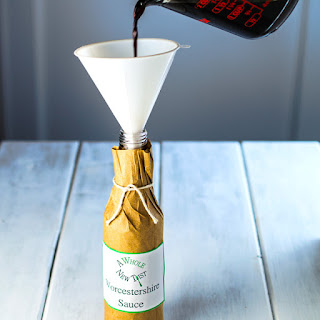 Homemade Paleo Worcestershire Sauce.