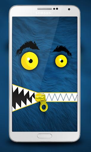 玩免費個人化APP|下載モンスタージッパーロック画面 app不用錢|硬是要APP