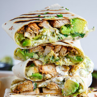 Avocado Chicken Burritos Recipes.