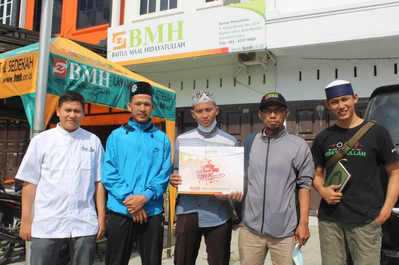 BMH Kirim Dai Ramadhan ke Kampung Mardingding Karo