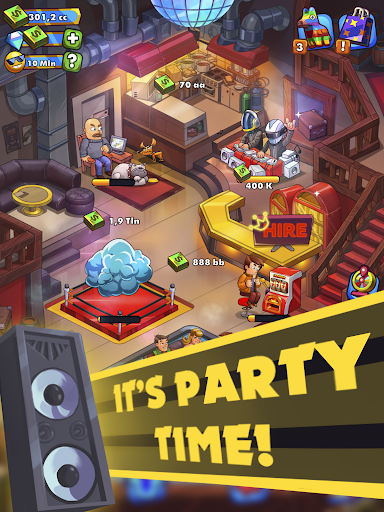 Party Clicker u2014 Idle Nightclub Game apkpoly screenshots 6