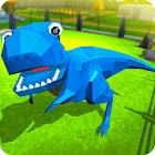 Jurassic Dinosaur Park Craft: Dino World icon