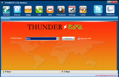 Bsnl software for 3g modem