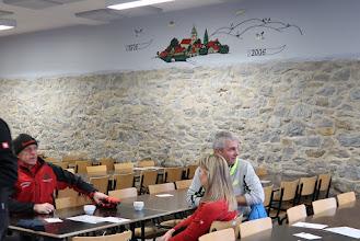 Photo: Salle de la Souche. Pour la fraternelle des Aînés de Marenne