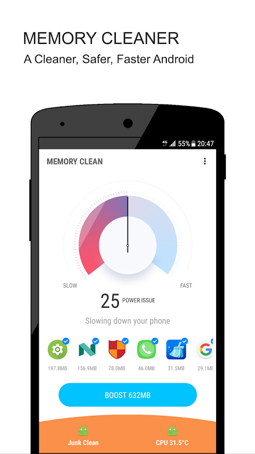 Super Cleaner - Memory Cleaner - Phone Booster- screenshot