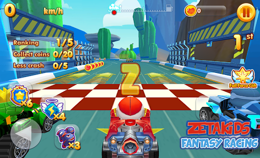 ZetaKids - Fantasy Racing Adventure | Robot Fun 3D for PC-Windows 7,8,10 and Mac apk screenshot 4