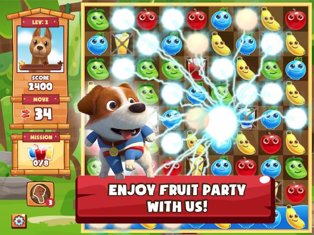 android Tong Daeng Fruity Crush Screenshot 10