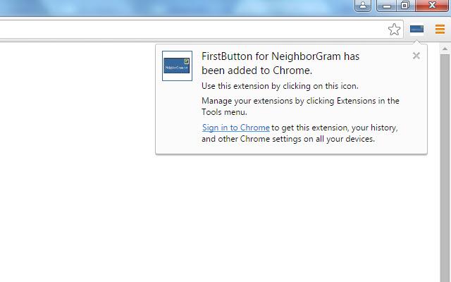 FirstButton for NeighborGram