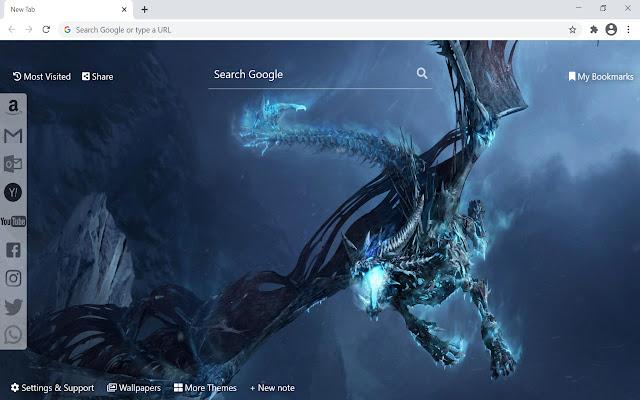 Dragon HD Wallpapers New Tab