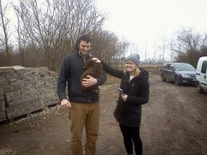 Photo: Adopcja Lusi:) Dostaliśmy również dużo karmy i innych prezentów od państwa:)