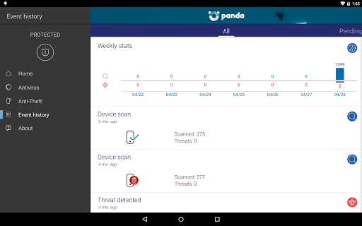 Endpoint Protection - Panda 3.2.5 screenshots 10