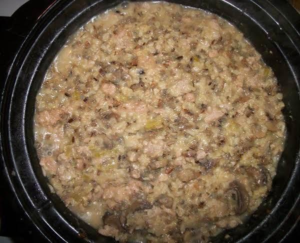 Russ's Pork Sausage Casserole Recipe