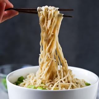 Easy Homemade Ramen Noodle Soup.