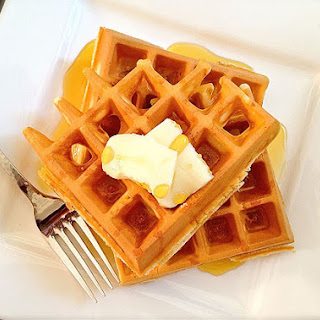 Quick and Easy Waffles.