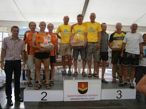Photo: 2.Platz Männer über 150