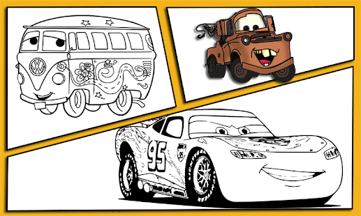 Mcqueen Coloring Pages 2 Cars 3 Coloring Mcqueen Android Apps Mcqueen Coloring Pages