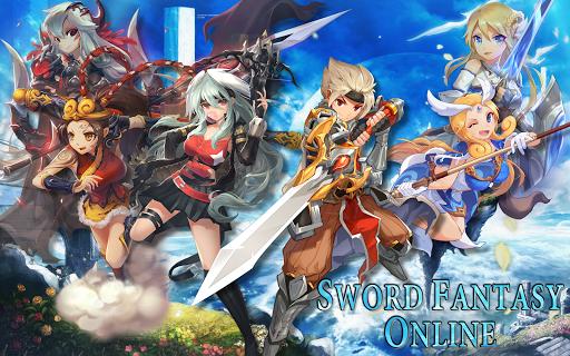 Sword Fantasy Online - Anime MMO Action RPG 7.0.23 screenshots 7