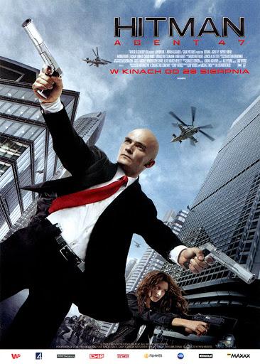 Przód ulotki filmu 'Hitman: Agent 47'
