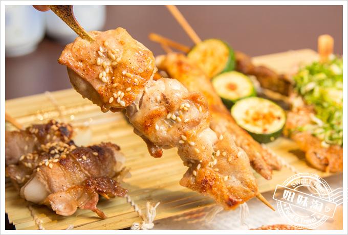 碳鰭日式家庭料理碳鰭招牌串燒盛