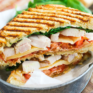 Chicken Bacon Ranch Panini Recipe