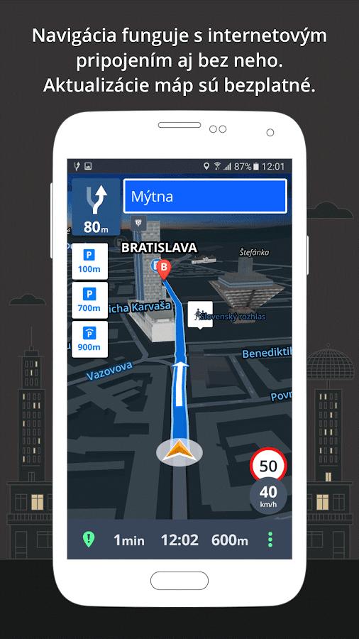 Sygic: GPS Navigácia a Mapy – Aplikácie pre Android v ...