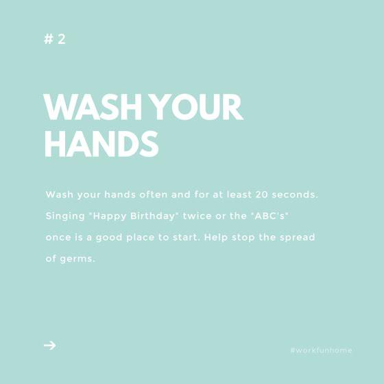 Wash Your Hands - Instagram Post Template