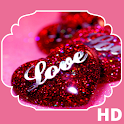 Glitter Love HD Wallpaper icon