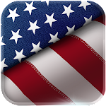 American Flag Keyboard Icon