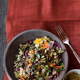 Moroccan-Spiced Millet-and-Lentil Salad