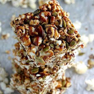 Healthy Popcorn Bars Recipes.