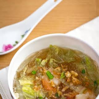 Simple Glass Noodle Soup.