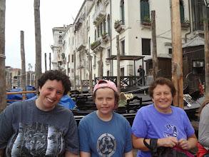 Photo: Next day we took the Traghetto (public gondola) across the grand canal