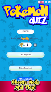 Quiz Pokemon Challenge - náhled