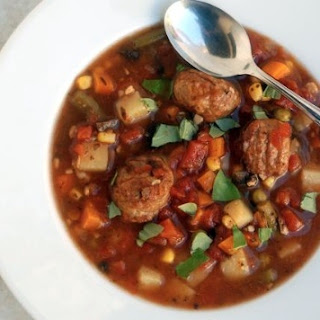 Crock Pot Italian Meatball Soup