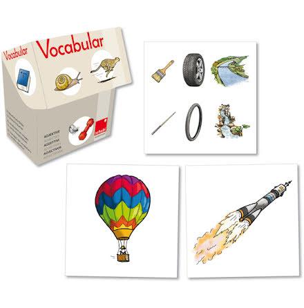 Vocabular - Adjektiv - 7763-677-9
