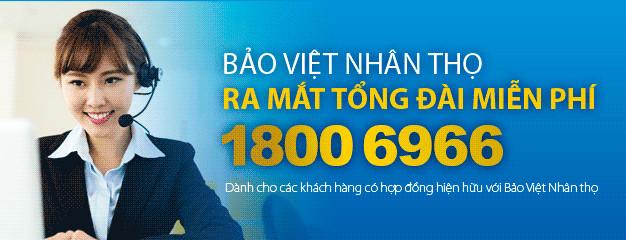 Liên hệ với tổng đài Bảo Việt Nhân thọ