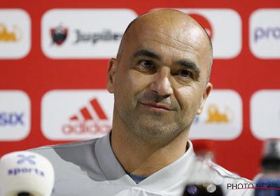 Roberto Martinez annonce les grandes lignes de son équipe face à l'Ecosse