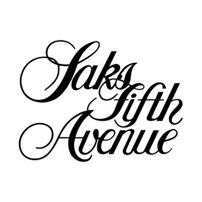 Saks Fifth Avenue Logo Black Transparent