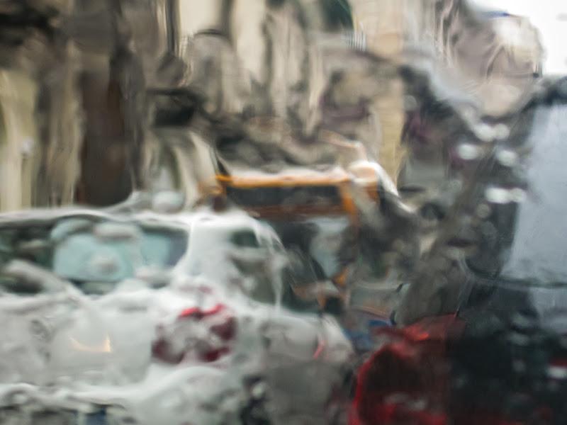 pioggia deformante di antography