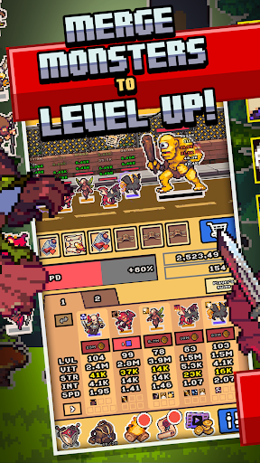 Idle Monster Frontier - team rpg collecting game 1.6.0 screenshots 3