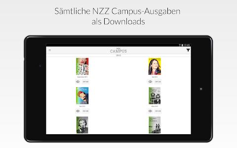 NZZ Campus screenshot 4