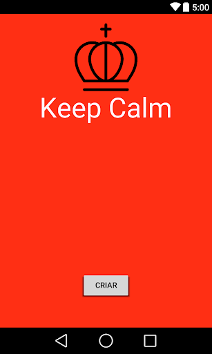 Meu Keep Calm App 1.0